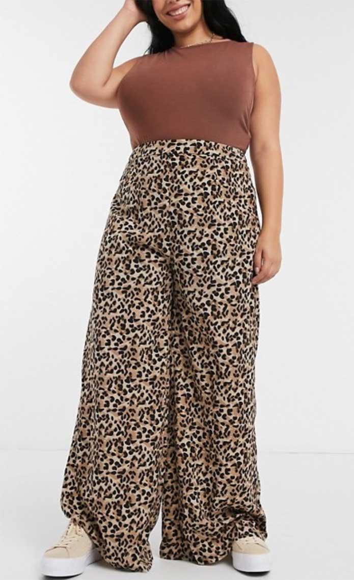 ASOS Leopard print trousers