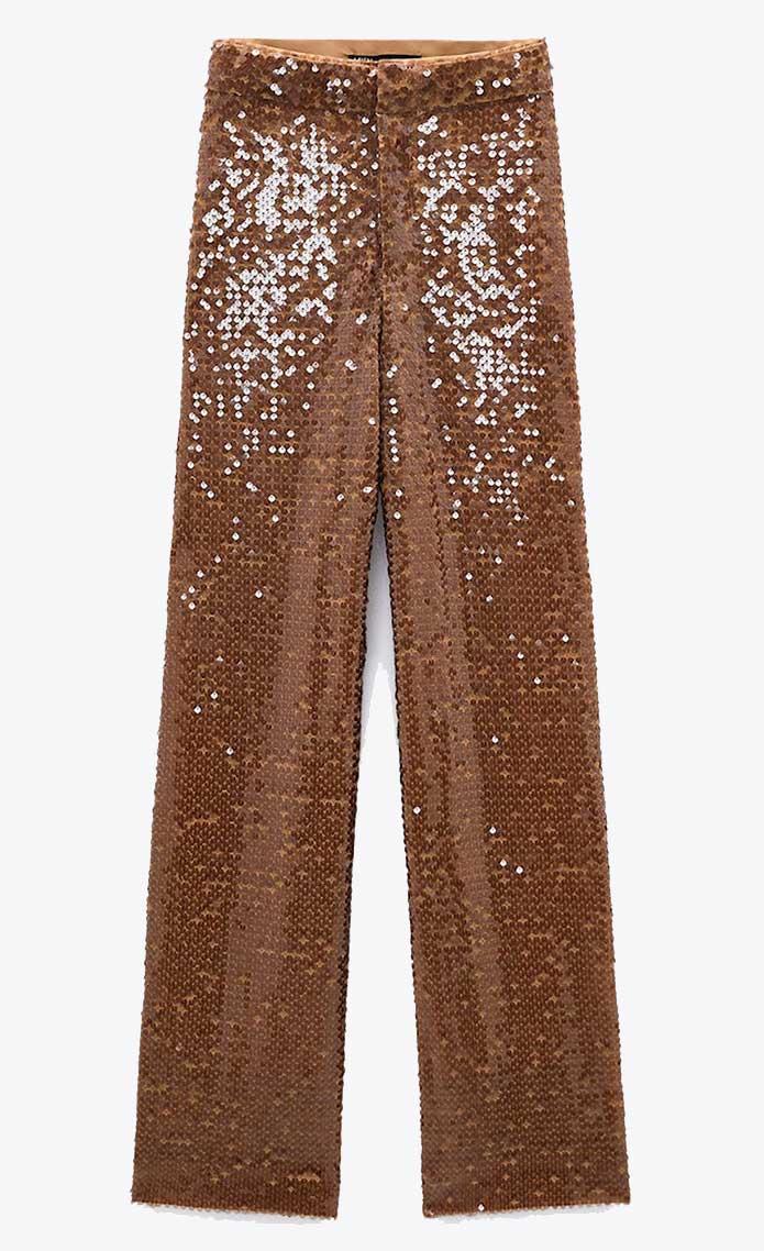 Zara wide length trousers